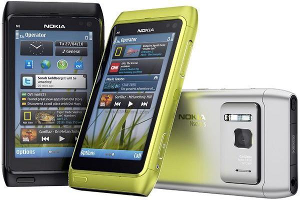 Смартфоны на Symbian 3
